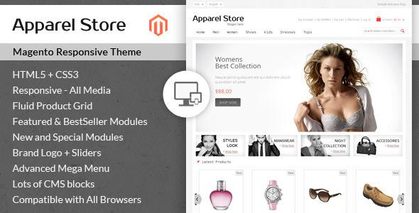 Apparel Store - Magento Responsive Theme