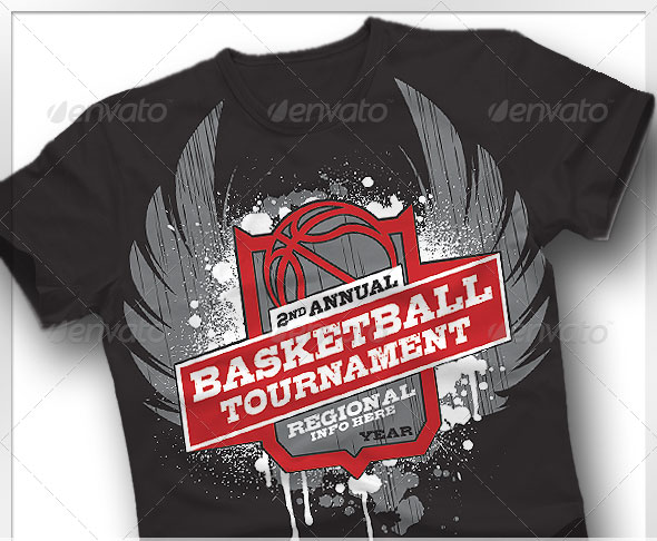 Basketball-Tournament-T-shirt