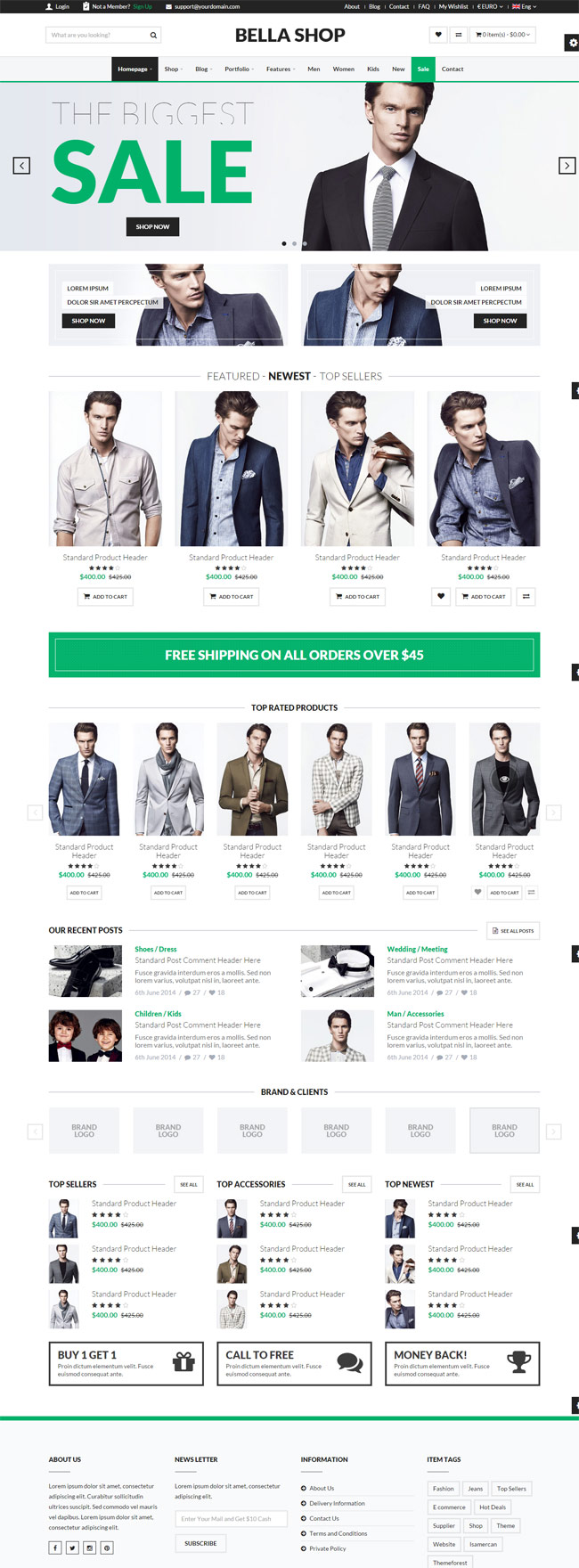 Bella-Multipurpose-eCommerce-HTML-Template