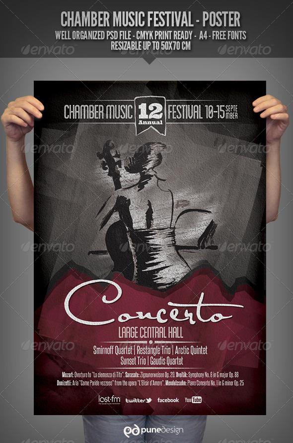 Chamber Music Festival - Poster