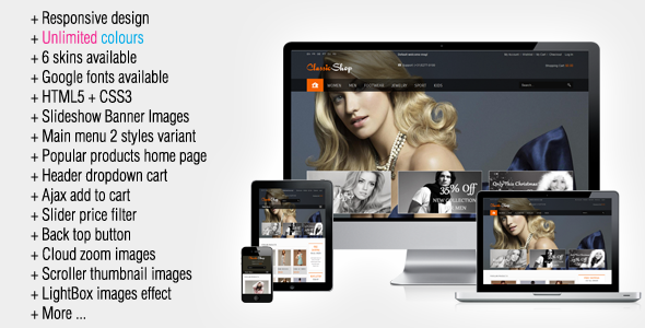 25+ Best Responsive Cosmetic Magento Themes 2016