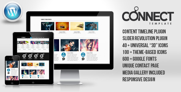Connect - WordPress Responsive Theme