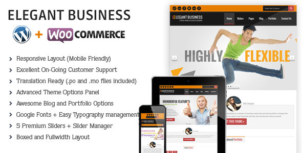 Elegant-Responsive Business Theme