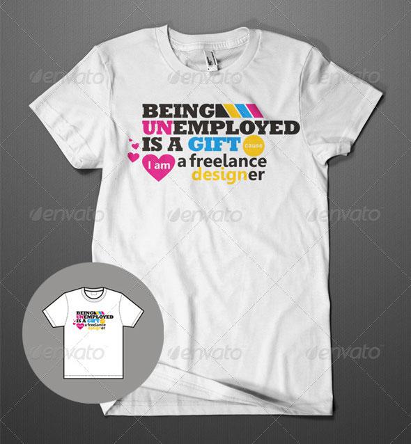 Freelance-Designer-T-Shirt