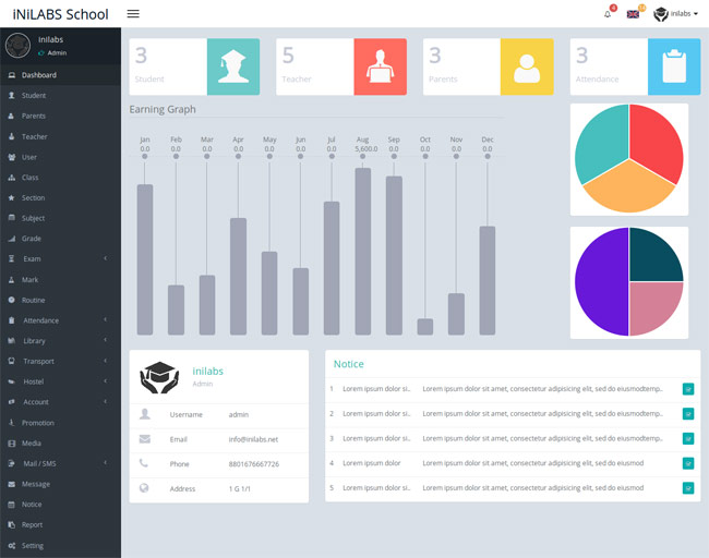 Inilabs-School-Management-System