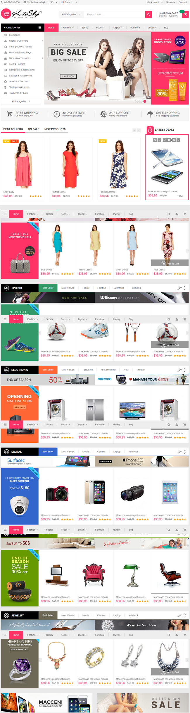 KuteShop-Multi-Purpose-Ecommerce-HTML-Template