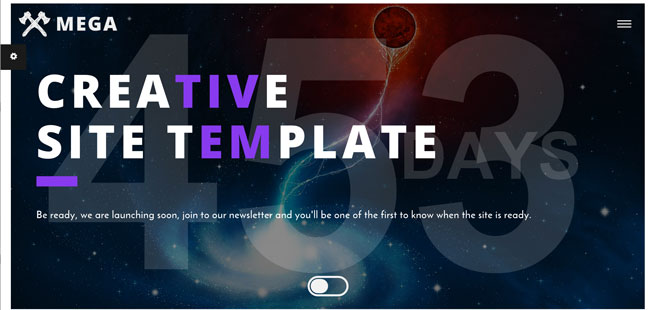 MEGA-Creative-Coming-Soon-HTML-Template