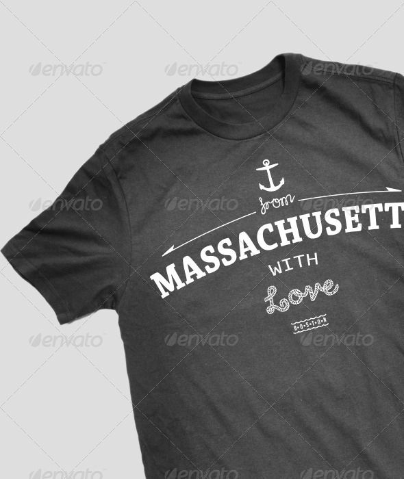Massachusetts T-Shirt Design