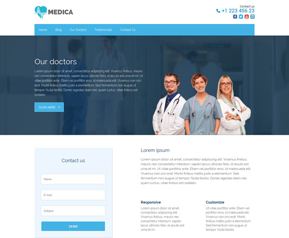 Medica-Pro-Health-WordPress-Theme