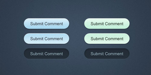 Minty Fresh Web Buttons
