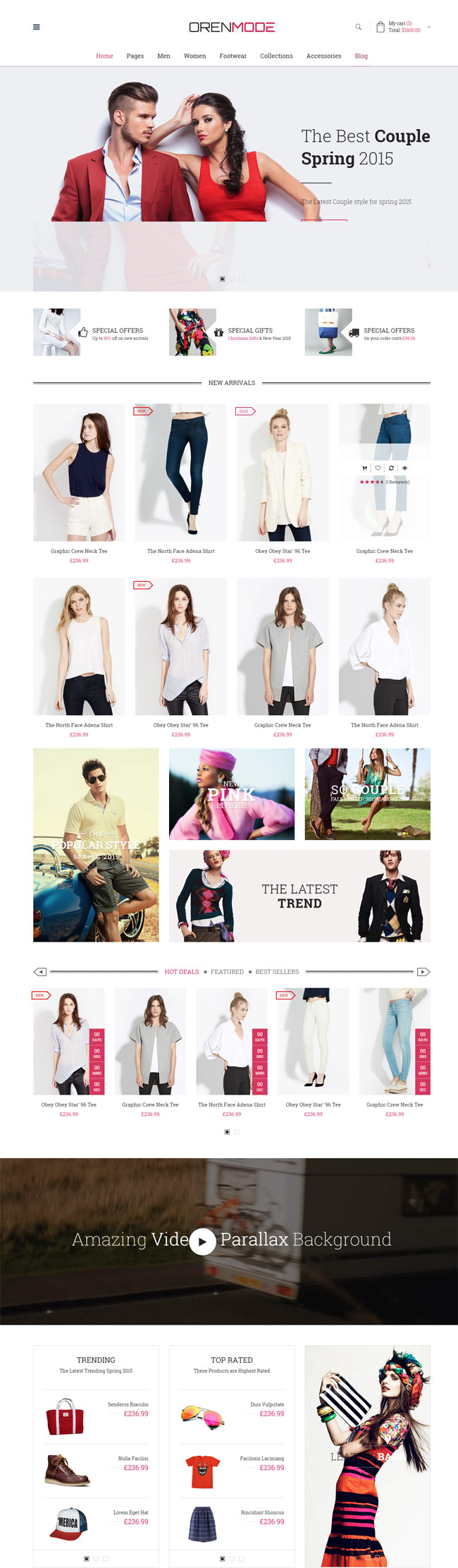 OrenMode-Ecommerce-HTML5-Template