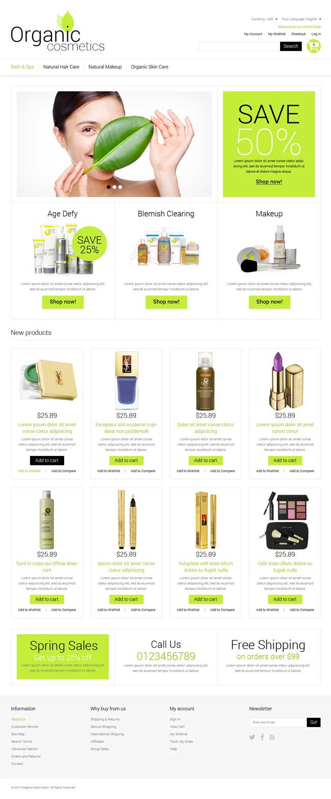 Organic-Cosmetics-Magento-Theme