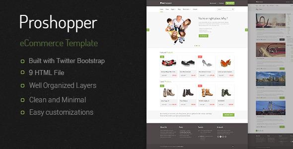 Proshoper - eCommerce HTML Template