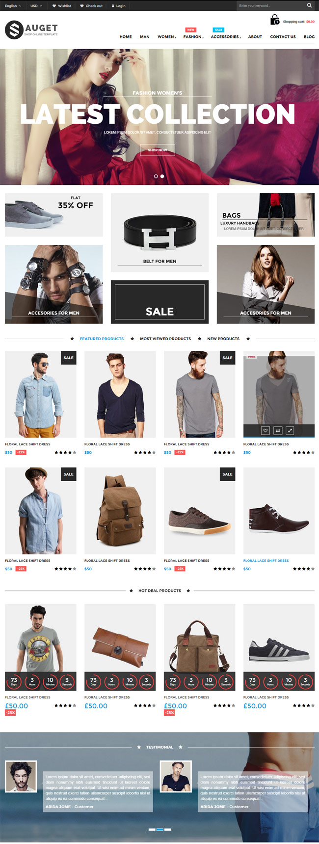 Sauget-eCommerce-HTML-Template