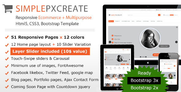 Simplepxcreate Responsive Ecommerce-Multipurpose