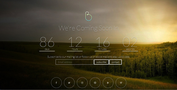 bersua-responsive-coming-soon-page