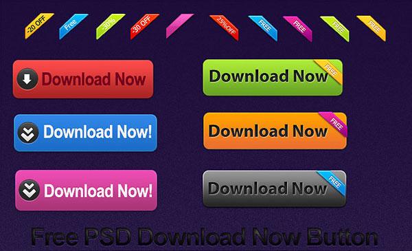 best-free-psd-button-downloads