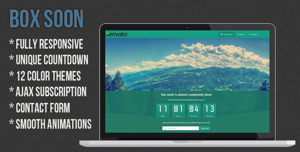 boxsoon-responsive-coming-soon-page