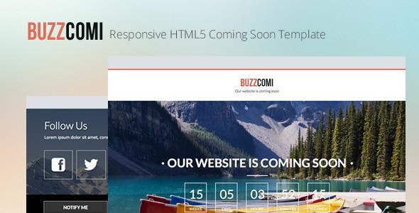 buzzcomi-responsive-html5-coming-soon-template