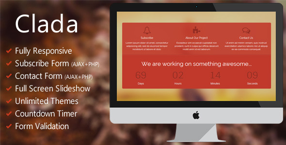 clada-responsive-coming-soon-page