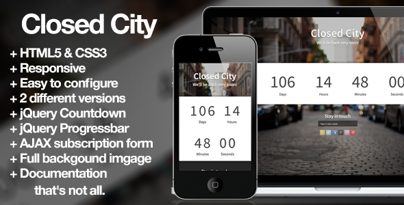 closed-city-coming-soon-page