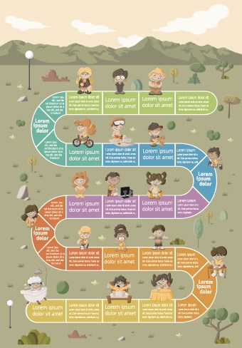 cute-kid-with-infographic-vector