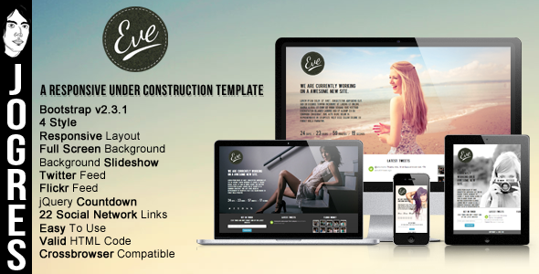 eve-responsive-underconstruction-theme