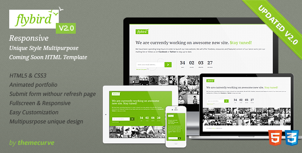 flybird-coming-soon-page