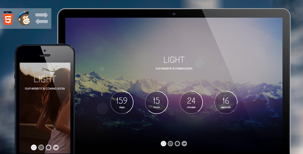 light-coming-soon-page