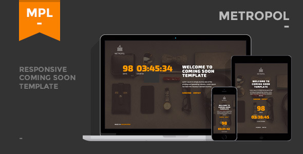 metropol-responsive-coming-soon-template