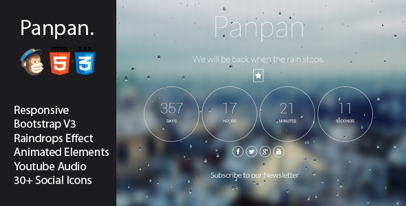 panpan-responsive-coming-soon-template