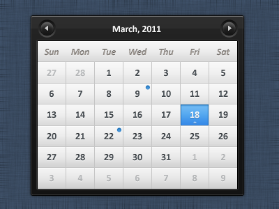 sleek-calendar-psd