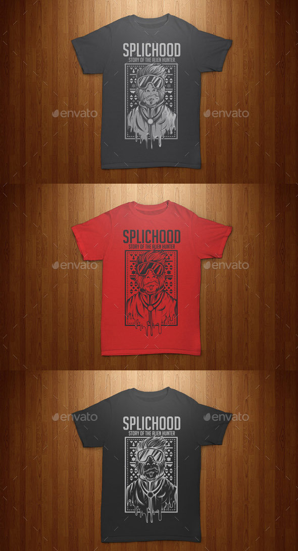 splichood-tshirt-template