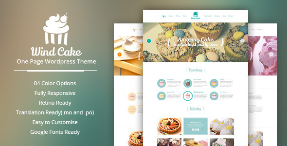 windcake-onepage-wordpress-theme