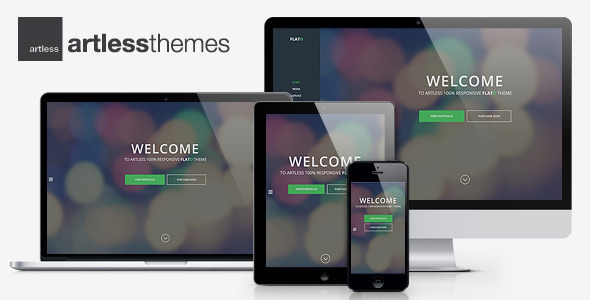 Flato - Parallax One Page WordPress Theme