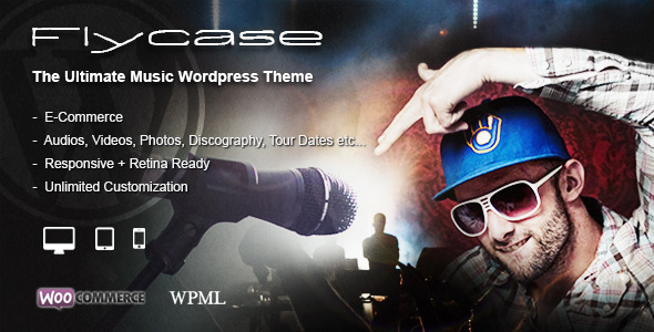 Flycase - Complete Music Solution for WordPress