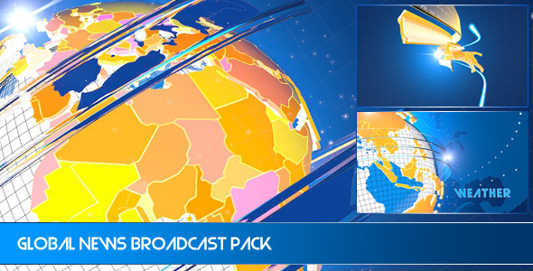 Global News Ident Broadcast Pack