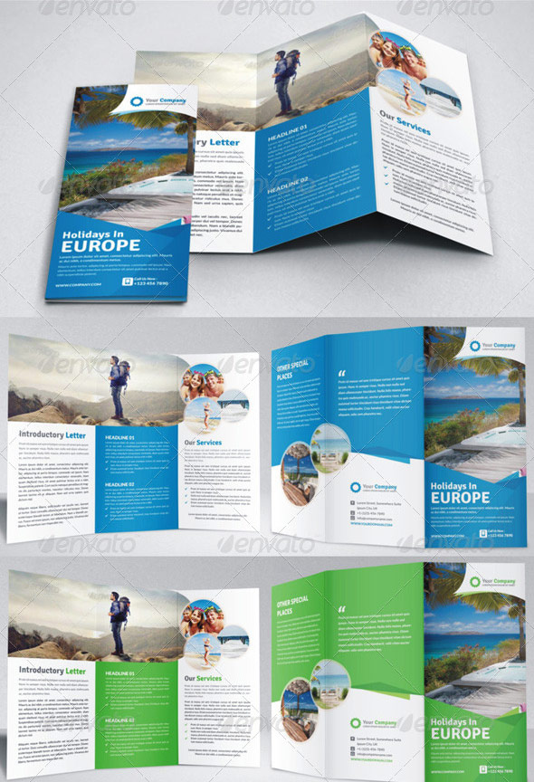 Holiday-Travel-Agency-Bifold-and-Trifold-Brochure
