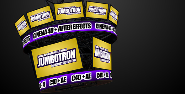 Jumbotron C4D+AE