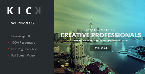 KICK - Onepage WordPress Theme