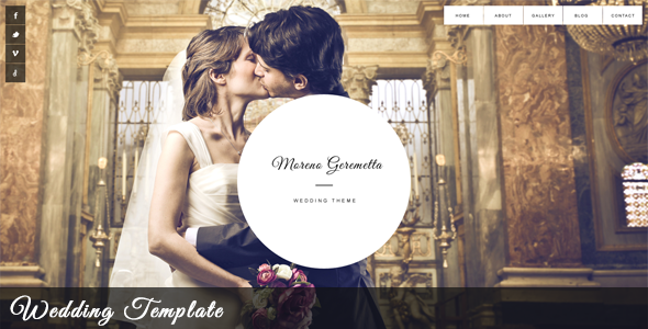 Moreno - Responsive Wedding & Event Template