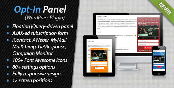 Opt-In Panel