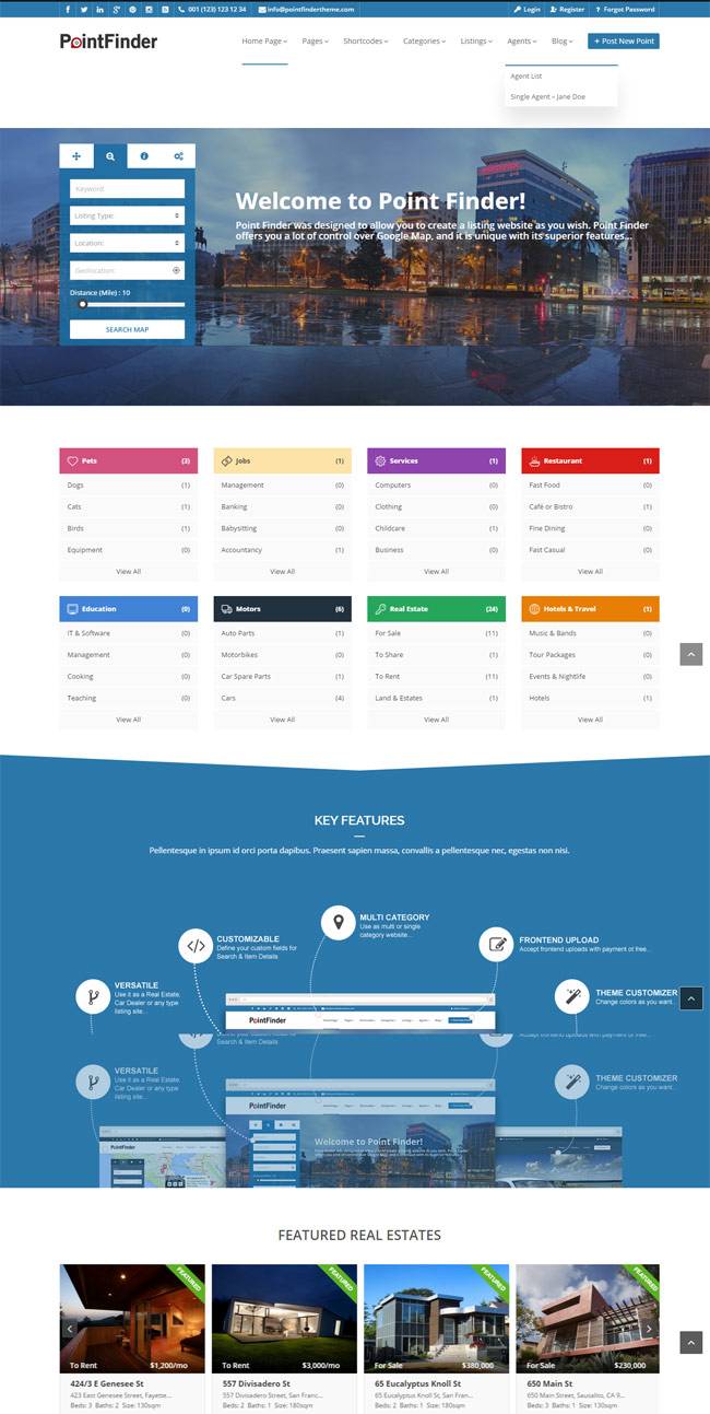 Point-Finder-Directory-Wordpress-Theme