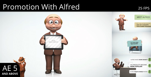 Promotion With Alfred