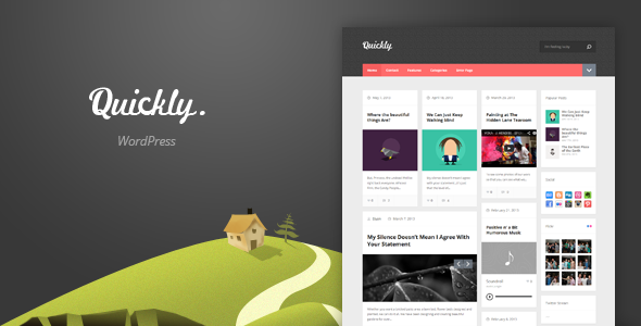 Quickly - Handcrafted WordPress Theme