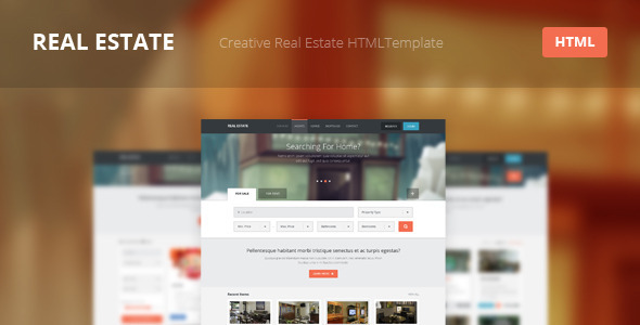 Real Estate - Creative HTML Template