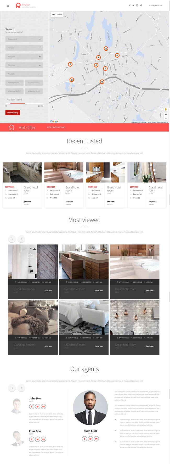 Realtor-A-Real-Estate-Template