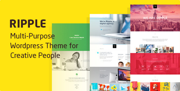 Ripple - Multi-Purpose OnePage Theme for Creatives