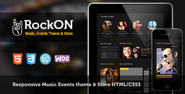 RockOn - Multipurpose Music WP Theme
