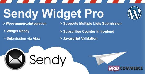 Sendy Widget Pro